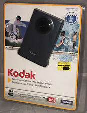 Kodak Mini Video Camera Zm1 Gray Waterproof Up To 10ft w/ 2Gb Micro Sd Card New