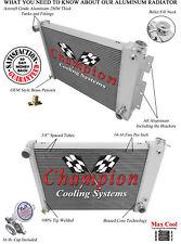 4 Row Perf Champion Radiator for 1967 68 1969 Chevrolet Camaro Big Block V8 Eng