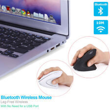 2.4GHz Bluetooth Wireless Mouse Optical Adjustable 6D Vertical Mice Ergonomic US
