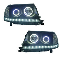 *LED* ALTEZZA HEAD LIGHT LAMP ANGEL EYES suit TOYOTA LAND CRUISER 100 2005-2007