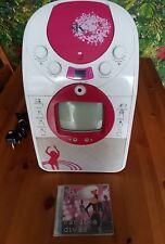 Niños Rosa Portátil Máquina De Karaoke EKG14G por Easy Karaoke