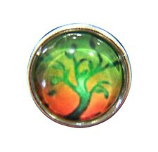 Noosa Style Mini Chunk Chunks Ginger Snap Button Jewellery Charms Tree 12mm