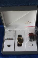 Omega Seamaster Herrenuhr oder Unisex Titan/Gold 18 Karat mit großer Box