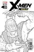 X-MEN GOLD 1 FRIED PIE CONVENTION B&W SKETCH VARIANT 1st PRINTING CONTROVERSIAL