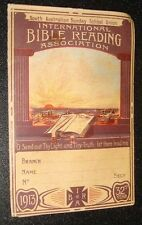 vintage old international bible reading association IBRA 1913 SOUTH AUSTRALIA