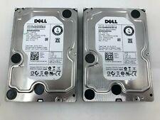 "**LOT OF 2**Dell 1TB Enterprise HDD 7.2K RPM 3Gb/s 3.5"" SATA Hard Drive 0V8FCR"
