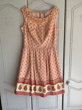 Pepperberry Ladies Embellished Neck Dress in PINK. Size 10RC. Brand new. RRP £69