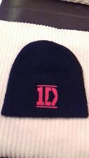 One direction official  fleece Beanie hat + FREE 25mm pin badge !