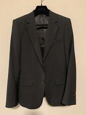 Gucci Black Suit. Size 44. Pants Size 46. 100% Wool.
