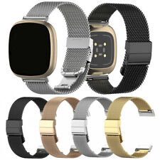 For Fitbit Versa 3/Sense Metal Milanese Replacement Stainless Steel Band Strap