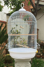 "26"" Round Dome Top Bird Finch Canary Cockatiel Parakeet LoveBird Flight Cage"