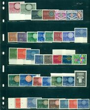 EUROPA 1960 Complete Yearset NH 20 countries Scott $203.90