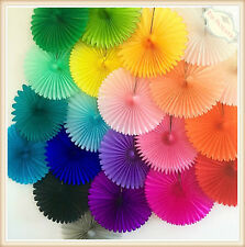 Tissue Paper Fans Pom Poms Wedding Party Baby Lantern Home Room Decor AU Stock