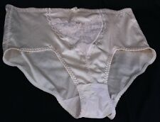 Jolie Intimates XXXL 3XL French Cut High Waisted Briefs Panties Beige Lace NWOT