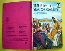 Jesus By The Sea Of Galilee vintage Ladybird book Sea of Christianity Bible 1958