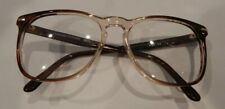 Vintage Century Fashion B59 Brown Fade 55/17 Eyeglass Frame New Old Stock #306