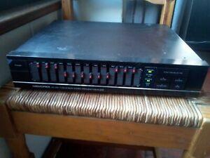 amplificateur-equalizer Memorex EQ-302 (16hz à 32000hz)