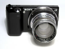 JUPITER-3 1:1,5 F=5cm CONTAX-2 lens with Sonnar glasses adapted to Sony E-mount