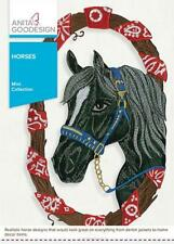 Horses Anita Goodesign Embroidery Machine Designs CD