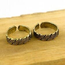 Ring Set Ethnic Jewelry Vfj1204 Indian Fashion Handmade Brass Toe