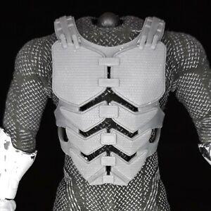 1/12 Scale - Tactical Body Armor - Adjustable- 2 Body Types - READ DESCRIPTION