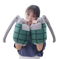 2pcs My Hero Academia Katsuki Bakugo Grenade Gloves Plush Toy Cosplay Prop