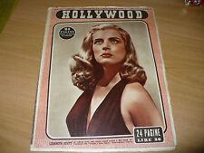 SETTIMANALE CINEMATOGRAFICO HOLLYWOOD N.224 1950 LIZABETH SCOTT MARISA FRAU BOSE