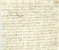 Sambuca di Sicilia Rissa fra il Sacerdote Lanzafame e Procuratore Fiscale 1724
