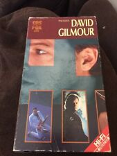 David Gilmour Live VHS Video Tape In Concert Bad Company Pink Floyd Roy Harper