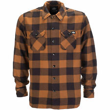 Dickies Sacramento Camiseta Camisa De Hombre franela NUEVO