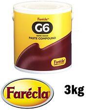 Farecla G6 Rápido Tipo Cola Compuesto Pulido 3kg corte reforzado g6-3000