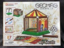 Very Rare GEOMAG WORLD My Castle Swiss Made 87 Pieces - NEW