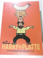 HARRY und PLATTE Gesamtausgabe 0 :1949-1954 ( Salleck Hardcover 370 Seiten ) NEU