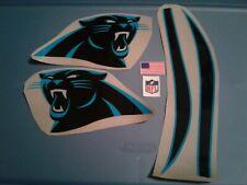 Carolina Panthers football helmet decals set