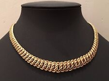 collier maille americaine or 18 carats 750°/°°, 36,31 grs pour 45 cm