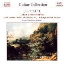 Enno Voorhorst, J.S. - Guitar Transcriptions [New CD]