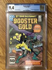 Booster Gold #1 CGC 9.4 WP 1st Booster Gold!