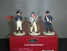 Britains 41124 Lord Nelson batalla de Trafalgar las calificaciones de los marineros franceses figura Set