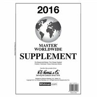 H E Harris Master World Supplement for Stamp issued in 2016