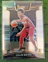2018-19 Collin Sexton Panini Select  #75 Concourse Rookie Card RC