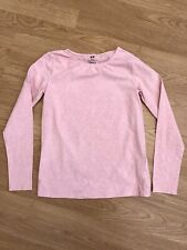 Girls H&M Pink Long Sleeved Top 8-10 Years