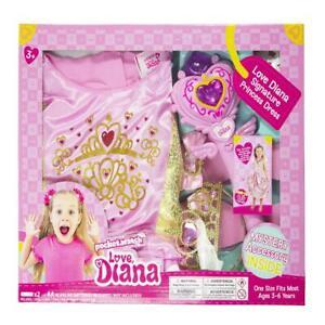 Love Diana Signature Princess Of Play Dress Up Kit For Girls