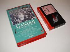 Betamax Video ~ Gandhi ~ Ben Kingsley ~ Ex-Rental Pre-Cert ~ RCA/Columbia
