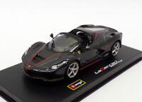 Burago 1/43 Scale 18-36907B - Ferrari LaFerrari Aperta - Black