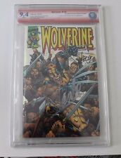 CBCS Wolverine No. 150, Dynamic Forces Chrome Variant, 9.4 Verified Sig Stan Lee