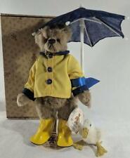 Barton's Creek Collection Gund 82054 Rainy day Pals Stuffed Bear & Duck NEW NIB