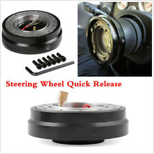 Racing Quick Release Adapter Steering Wheel Hub With Safety Lock Car Boss Kit