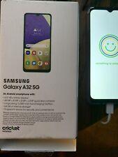 Samsung Galaxy A32 5G Cricket used 1 Week Ships Same Day