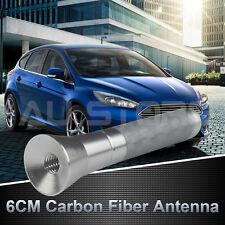 Silver 60mm Stubby Bee Antenna Auto Radio Aerial For Toyota Corolla Yaris RAV4