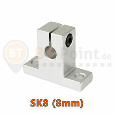 shaft mounting bracket CNC 3D drucker AluSK10 Wellenhalter
